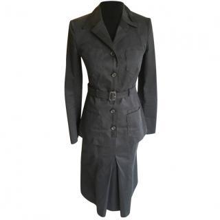 Prada navy blue suit