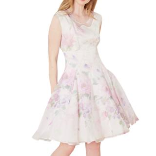 Cacharel Organza Silk Dress