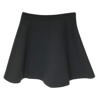 MSGM Black A Line Skirt.
