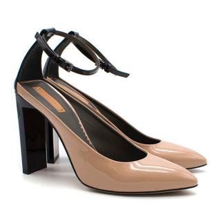 Reed Krakoff Atlas Two-tone Patent-Leather Pumps