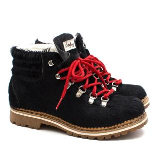 Montelliana Margherita Calf-hair Apres-ski Boots