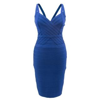 Herve Leger blue by Max Azria Alba Dress