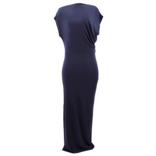 Malene Birger Navy Nasalio Maxi Dress