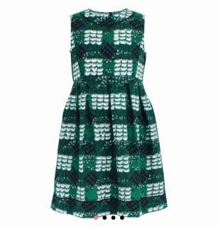 New Marni dove print dress size 12 yr