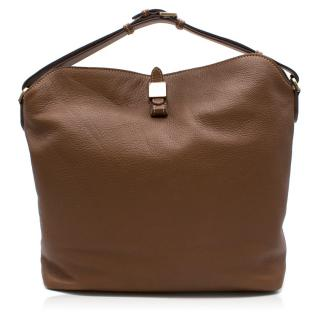 Mulberry Tessie Hobo Brown Soft Small Grain