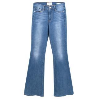 FRAME Le Forever Karlie Flare high-rise jeans