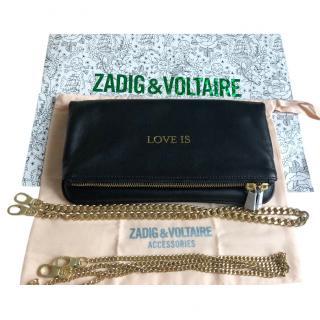 Zadig & Voltaire Rock Clutch Worn Once