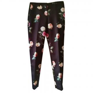 No.21 digital floral print pants