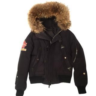 Dsquared2 Fur Puffer Jacket