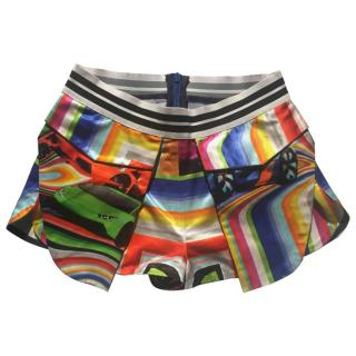 Fyodor Golan Rainbow Resort 2016 Printed Shorts