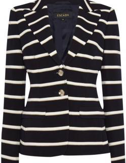 Escada striped blazer