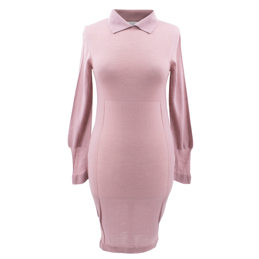 Emilio de la Morena Pink Knit Jumper Dress