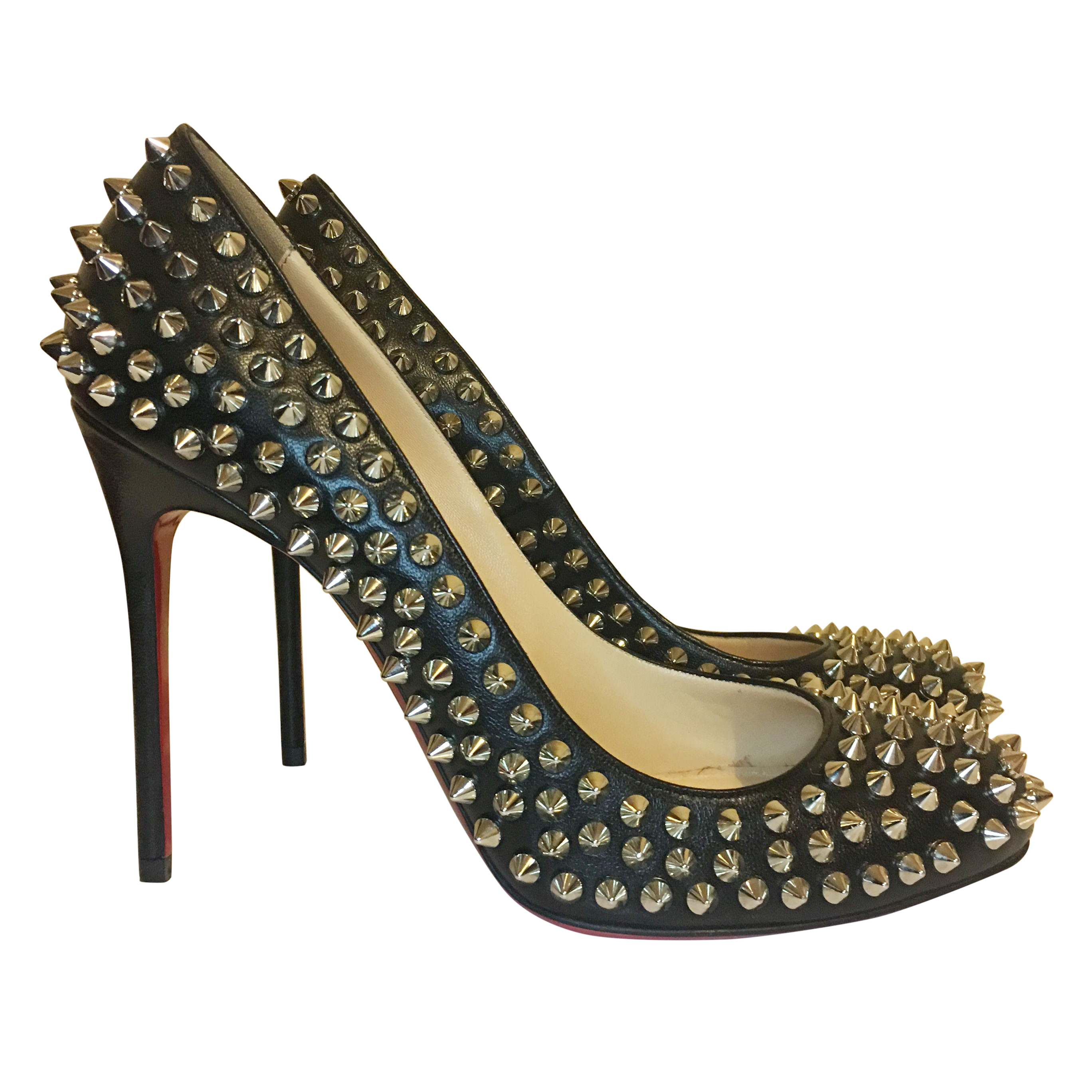 new concept 669bf a8eb8 Christian Louboutin Fifi Spike heels 100 mm
