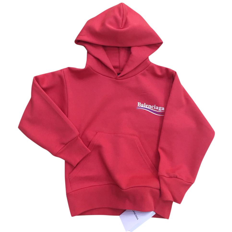 0cf65e823b3a Balenciaga Kids Red Hoodie