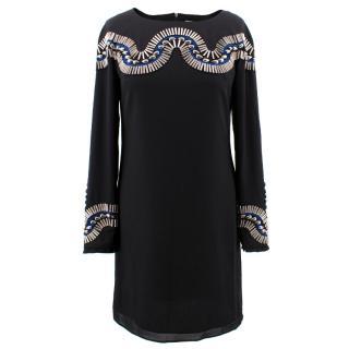 Alice By Temperley Mini Monte Black Dress