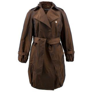 Dolce & Gabbana Brown Coat