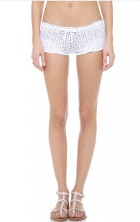 Melissa Odabash Crochet-knit Shorts