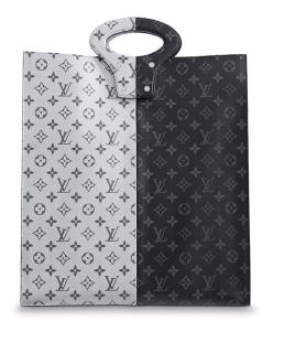 Limited Edition Louis Vuitton Split Tote Runway Collection SS18 Rare