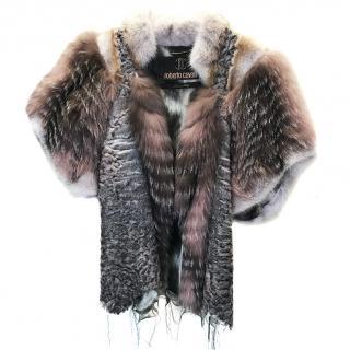 Roberto Cavalli Fur Jacket