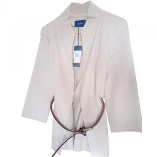 Faconnable Beige Wool/Cashmire Blazer/Jacket