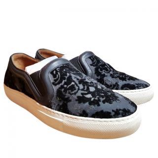 Givenchy velvet slip-ons