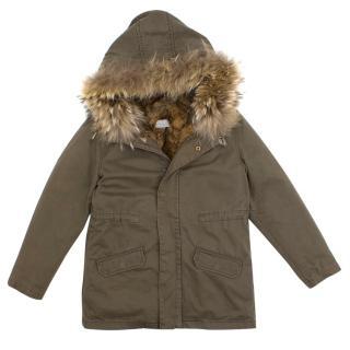 Yves Salomon Kids  Fur Lined Parka