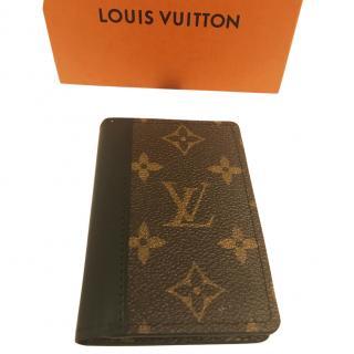 Louis Vuitton Macassar Pocket Organizer/All in one wallet