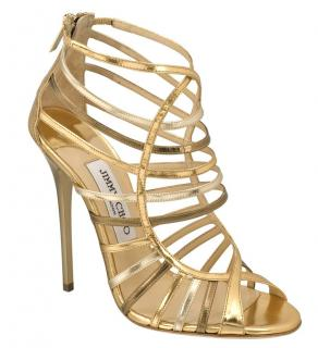 Jimmy Choo Caged Sandals