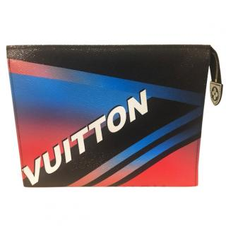Rare Louis Vuitton limited edition race pochette toiletry 26