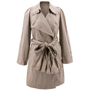 Lanvin Oyster Trench Coat