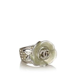 Chanel CC Camelia Ring
