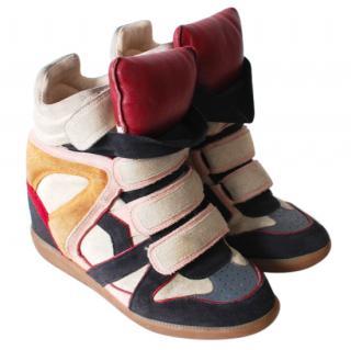 Isabel Marant Bobby Hightop Sneakers