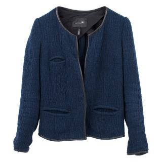 Isabel Marant Blue and Black blend Jacket