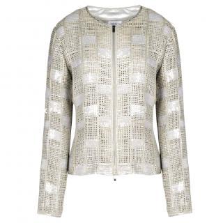 Armani Collezioni Goatskin Jacket