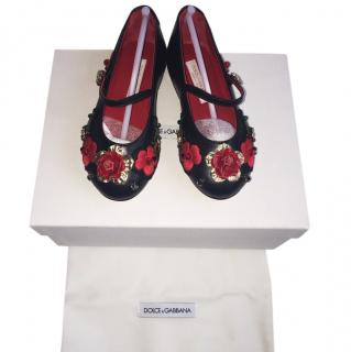Dolce and Gabbana black shoes 24 (7)