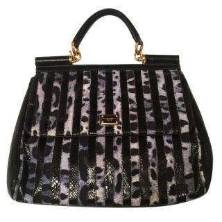 Dolce & Gabbana Sicily Python bag
