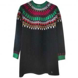 Gucci girl's fair isle sweater dress NWT