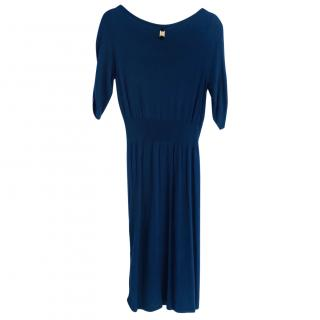 TRUSARDI Blue Stretch Dress