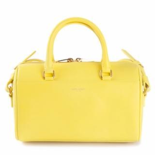 Saint Laurent 6 Hour Neon Yellow Bag