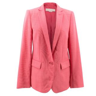 Stella McCartney Pink Wool Lightweight  Blazer