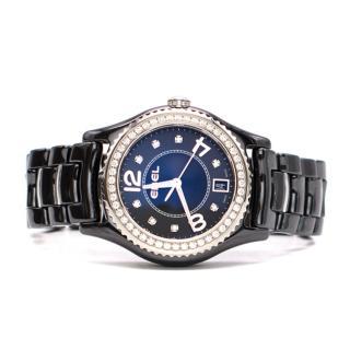 Ebel X-1 Black Dial Diamond Ceramic Watch