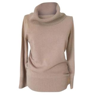 New Max Mara roll neck jumper wool and cashmere