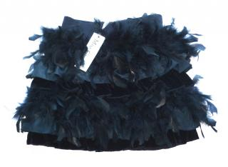 Miss Grant Statement Party Special Occasion Feather Skirt