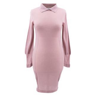 Emilio de la Morena Pink Knit Jumper Dress