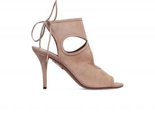 Aquazzura Sexy Thing heels taupe