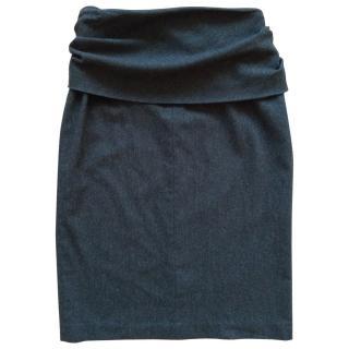 MaxMara foldover skirt