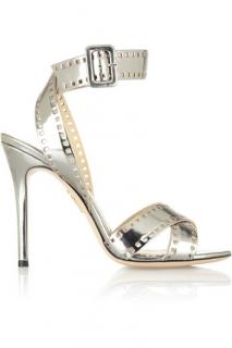 Charlotte Olympia Take Silver Sandals