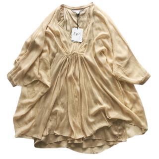 Diane von F�rstenberg Fleurette Silk Dress