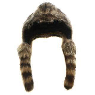Joseph Raccoon Fur Hat