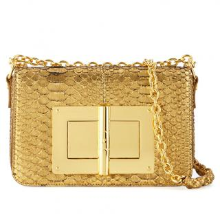 Tom Ford Exotic Python Medium Natalia Handbag